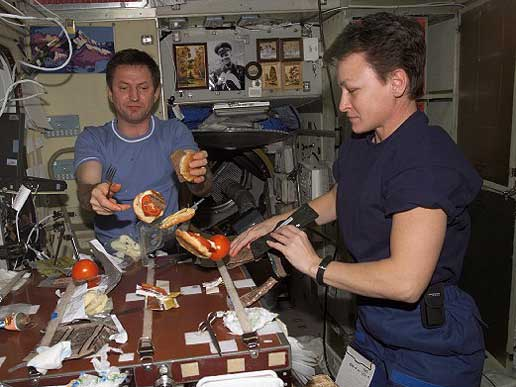 Space shuttle Pantry
